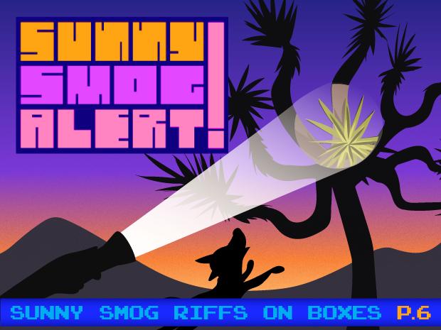Sunny Smog Alert Page 6